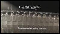 Video Demonstrates Benefits of Controlled Nucleation