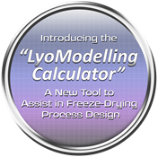 Powerful Software Utility for Modelling Freeze Drying Cycles