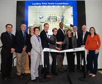 Grand Opening of New University of Massachusetts Lowell State-of-the-art, Pilot-scale Lyophilization Facility