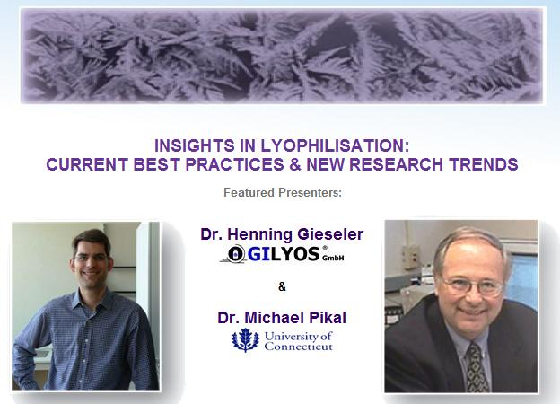 Insights in Lyophilisation European Seminars Announced by SP Scientific