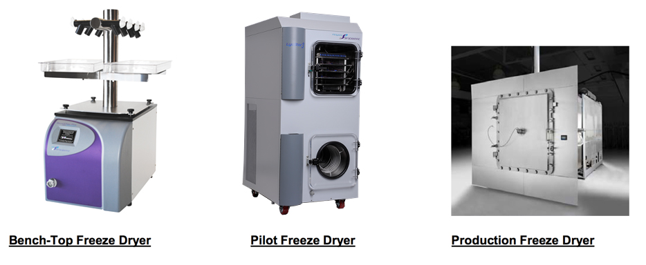 Freeze Drying / Lyophilization Information: Basic Principles