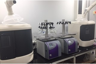 Equipment Setup in Lab