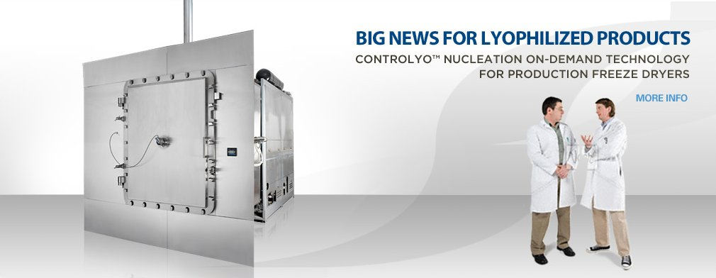 ControlLyo for Production Freeze Dryers
