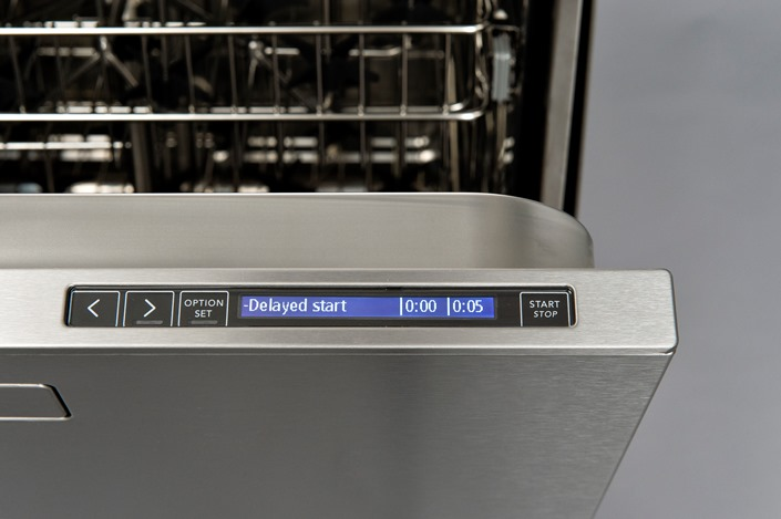 Glassware Washer Control Panel